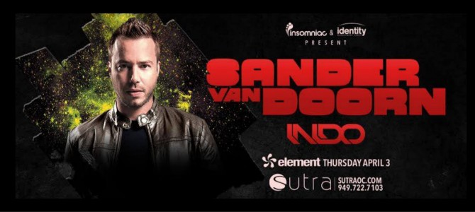 Sander Van Doorn at Sutra