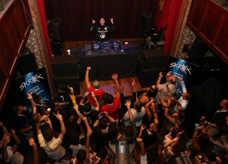 Skrillex Live @ The Slipper Room (NYC) 09/05/14