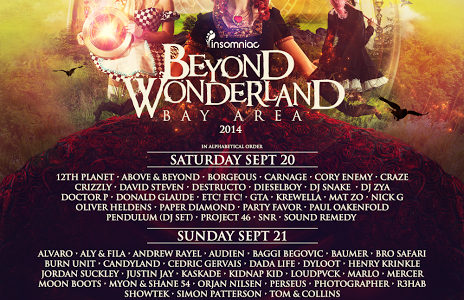 Beyond Wonderland Announcement