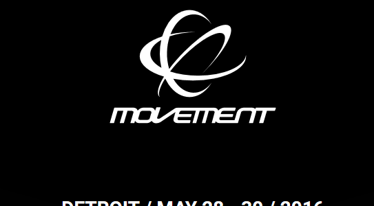 Movement Detroit 2016 Lineup: Phase One