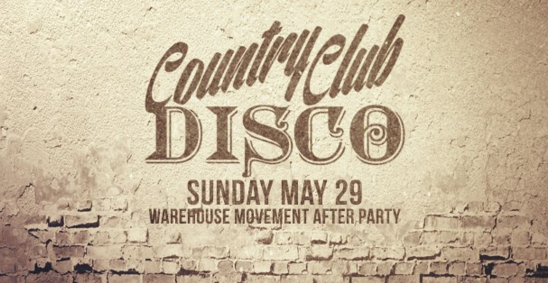 Country Club Disco Warehouse Movement After Party Preview