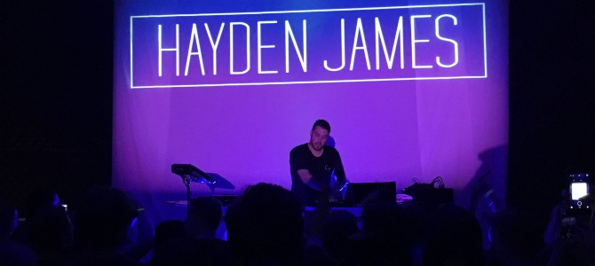 Review: Hayden James in Minneapolis