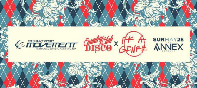 Movement Afters – Country Club Disco x Fk A Genre (Sunday, May 28th)
